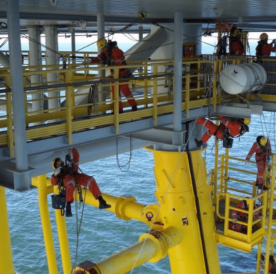 Offshore HV substation